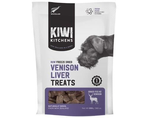 Kiwi Kitchens Venison Liver Freeze Dried Treats 250g