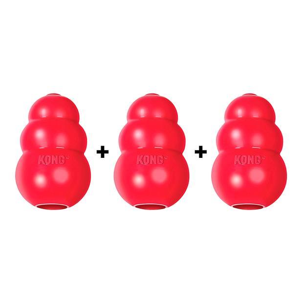 Kong Classic Red Key Is Three Medium