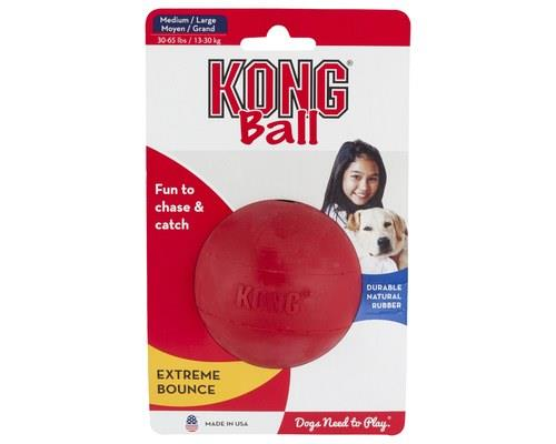 Kong Classic Red Rubber Ball Medium/large