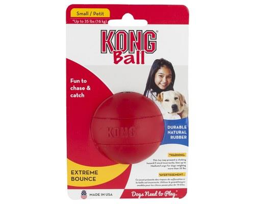 Kong Classic Red Rubber Ball Small