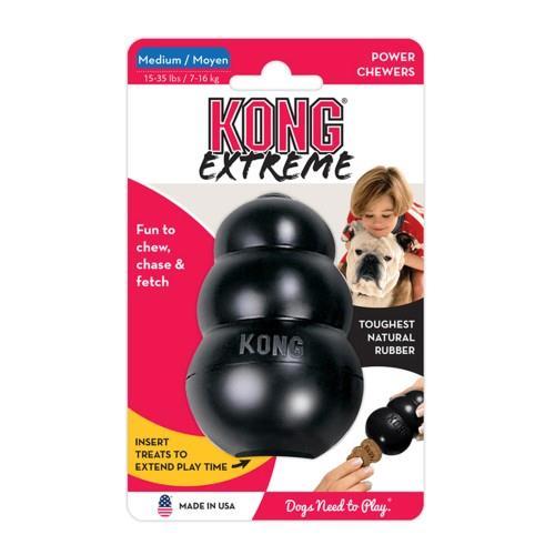 Kong Extreme Black Medium