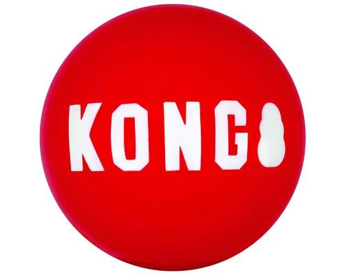 Kong Signature Ball Large 2 Pack