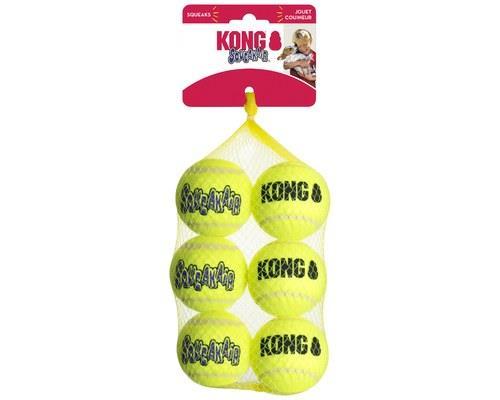 Kong Squeakair Balls Medium 6 Pack