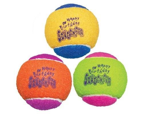 Kong Squeakair Birthday Ball 3 Pack