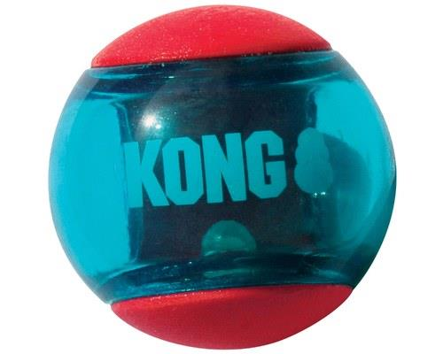 Kong Squeezz Action Ball Red Medium