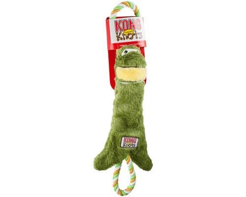 Kong Tugger Knots Frog Medium/large