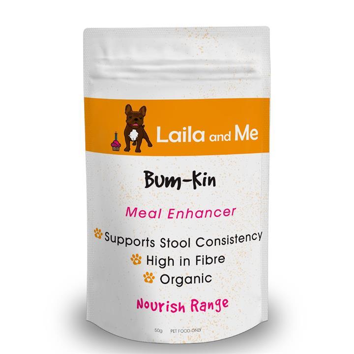 Laila & Me Bumpkin - Pumpkin & Apple Nutritional Supplement for Dogs 50g
