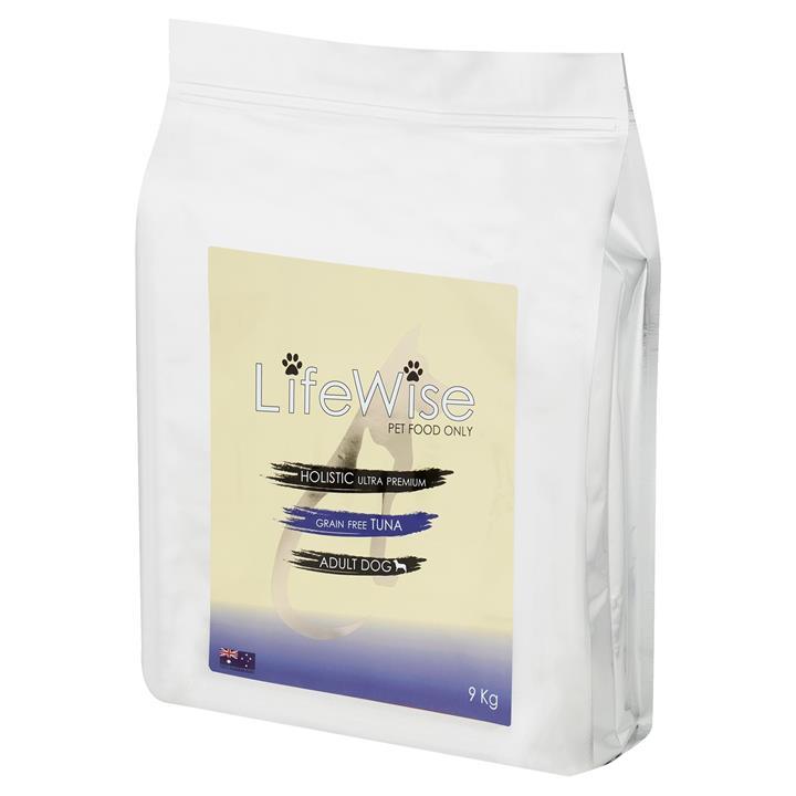 Lifewise Australia Dry Dog Food Grain Free Wild Tuna with Lamb & Vegetables 9kg