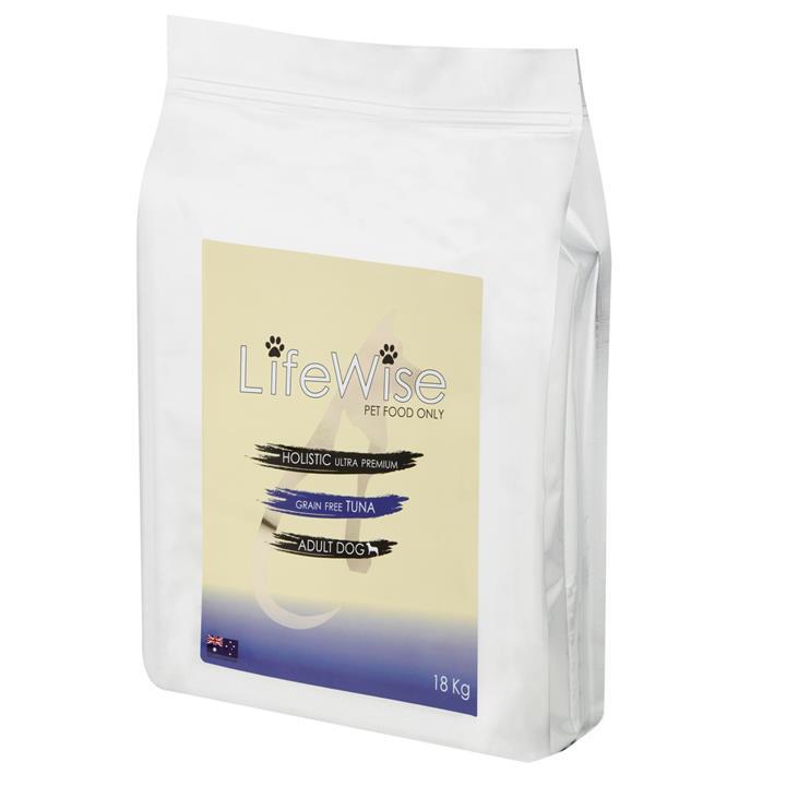 Lifewise Grain Free Tuna Lamb & Vegetable Adult Dog Food 18kg