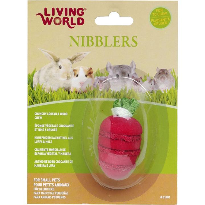Living World Small Animal Wood Loofah Strawberry
