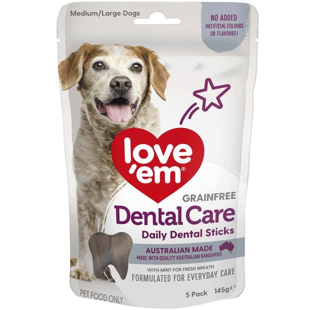 Love Em Dental Sticks 145g