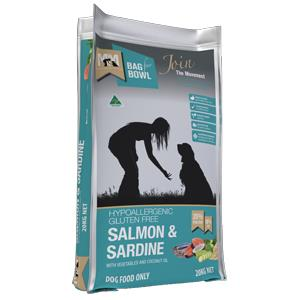 Meals For Mutts Salmon & Sardine Dog Food 20kg