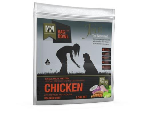 Meals For Mutts Single Protein Grain Free Chicken 2.5kg