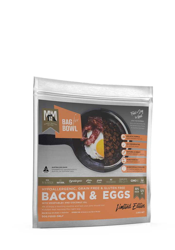 Meals for Mutts Bacon & Eggs Dog Food 2.5kg