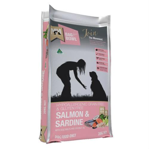Meals for Mutts Grain Free Salmon and Sardine 20kg