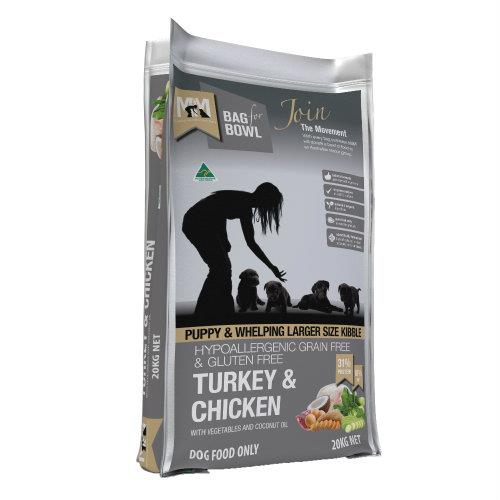 Meals for Mutts Puppy Grain Free Turkey and Chicken 20kg