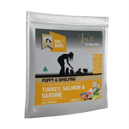 Meals for Mutts Puppy Turkey, Salmon and Sardine 2.5kg