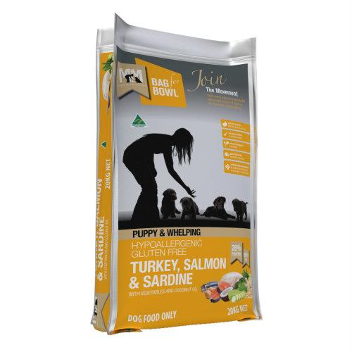 Meals for Mutts Puppy Turkey, Salmon and Sardine 20kg