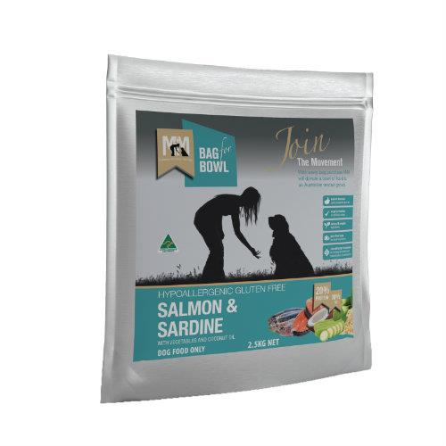 Meals for Mutts Salmon and Sardine 2.5kg