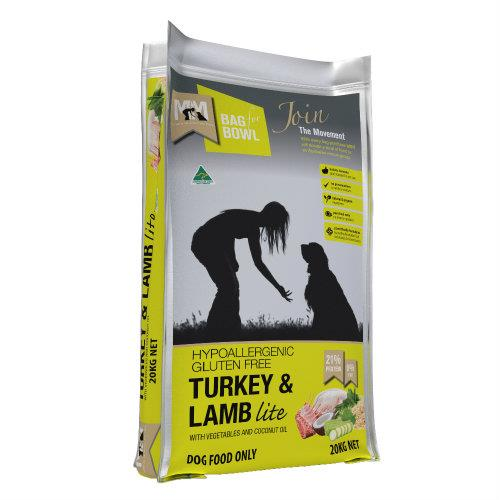Meals for Mutts Turkey and Lamb Lite 20kg