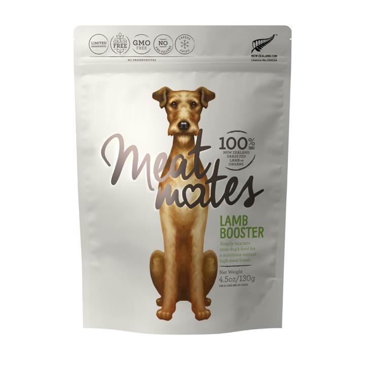 Meat Mates Dog Food Lamb Booster 130g