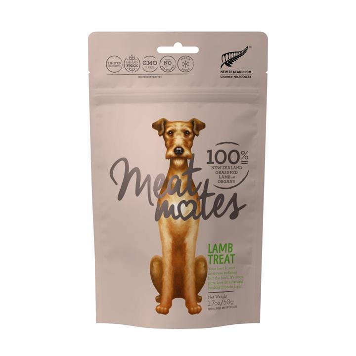 Meat Mates Dog Treat Lamb 50g