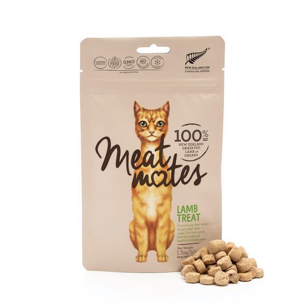 Meat Mates Grain Free Cat Treat Lamb 50g