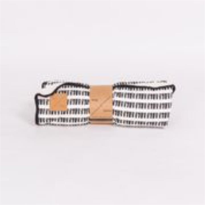 Mog & Bone Designer Fleece Blanket Black Mosaic