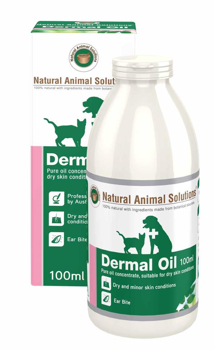 Natural Animal Solutions Dermal Oil 100ml