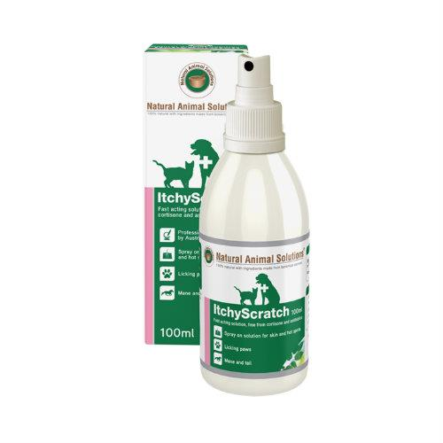 Natural Animal Solutions Itchy Scratch 100ml