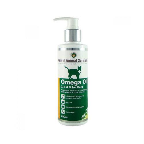 Natural Animal Solutions Omega Oil for Cats 200ml