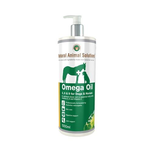 Natural Animal Solutions Omega Oil for Dogs and Horses 1L