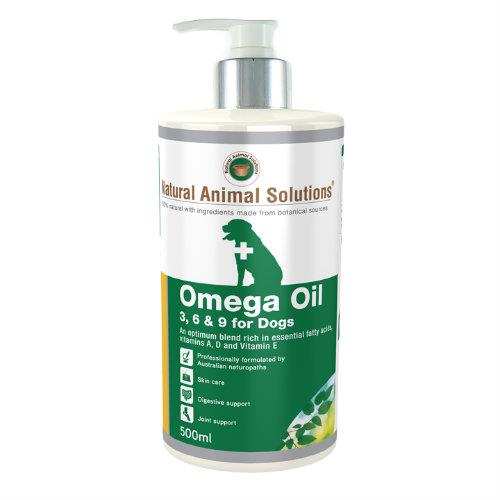 Natural Animal Solutions Omega Oil for Dogs and Horses 5L
