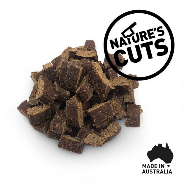 Natures Cuts Kangaroo Training Treats 250g
