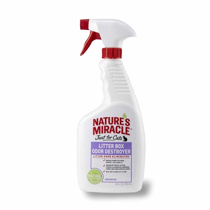 Nature's Miracle Just for Cats 709ml Litter Box Odour Destroyer