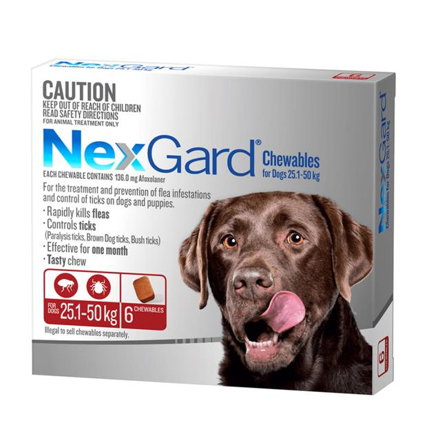 Nexgard Large 2 X 6 Pack