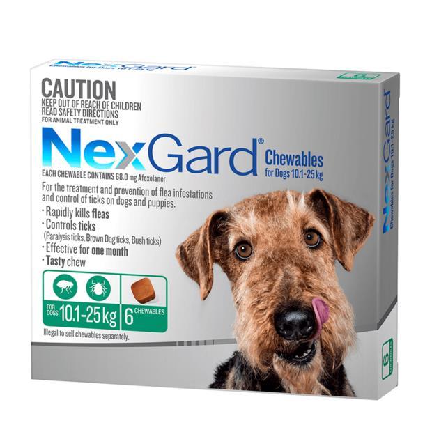 Nexgard Medium 2 X 6 Pack