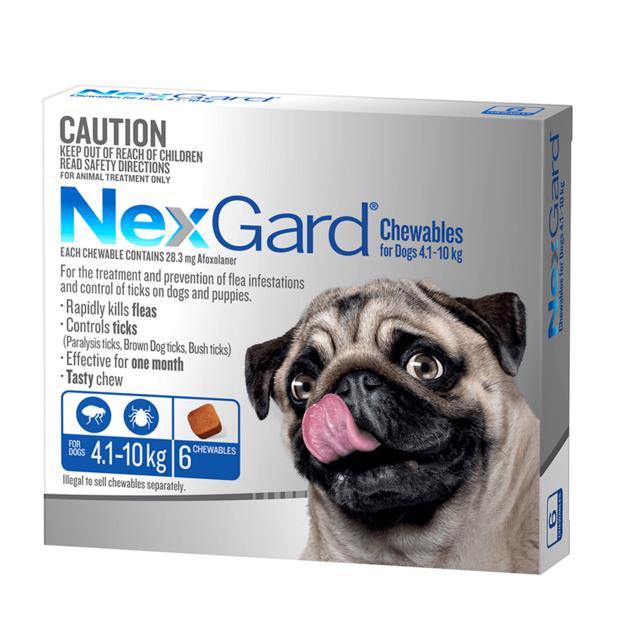 Nexgard Small 2 X 6 Pack