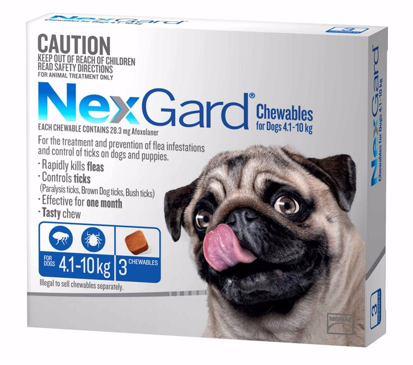 Nexgard for Medium Dogs 4.1-10kg