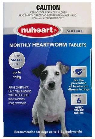 Nuheart Small Dog Under 11kg Blue 6 pack