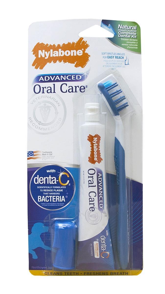 Nylabone Oral Care Dog Dental Kit