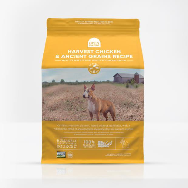 Open Farm Harvest Chicken Ancient Grain Dry Dog Food 10kg