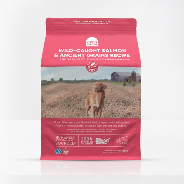 Open Farm Wild Salmon Ancient Grain Dry Dog Food 1.8kg