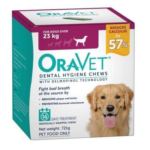 Oravet Dental Chews Large over 23kg 14 chews