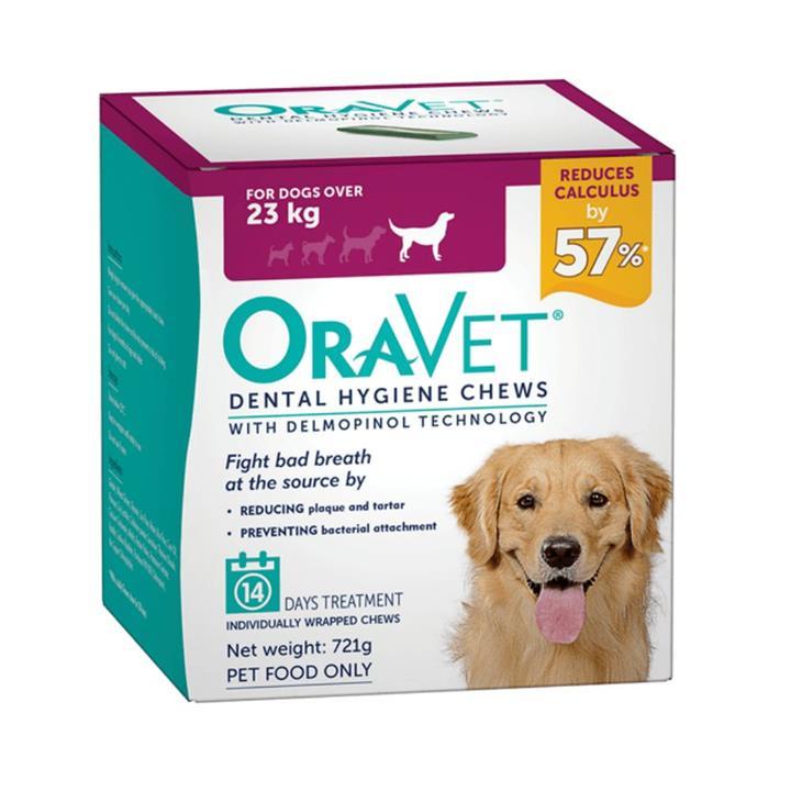 Oravet Dog Dental Hygiene Chews Large