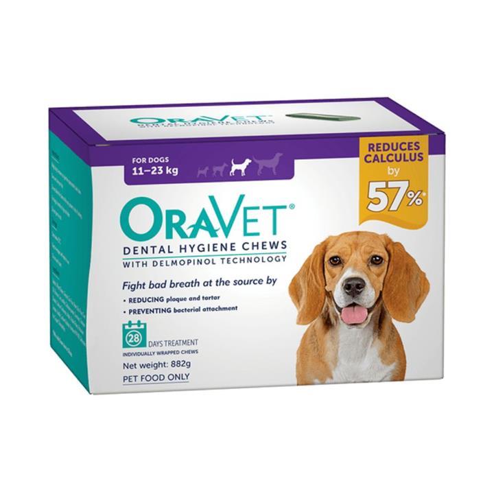 Oravet Dog Dental Hygiene Chews Medium