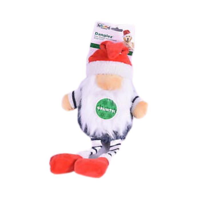 Outward Hound Danglez Christmas Gnome Dog Toy