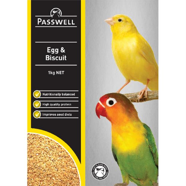 Passwell Bird Egg And Biscuit 1kg