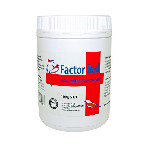 Passwell Canary Factor Red 25g