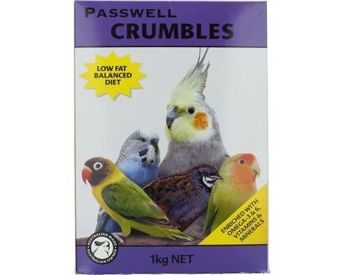 Passwell Small Bird Crumbles 1kg